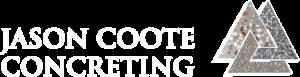 jason coote concreter logo no tagline white transparent